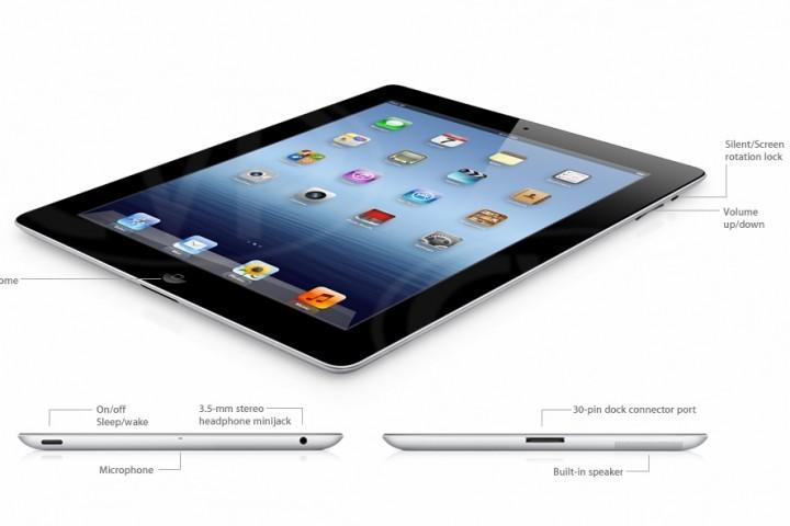 Apple iPad Retina (třetí generace) 16 GB Wifi