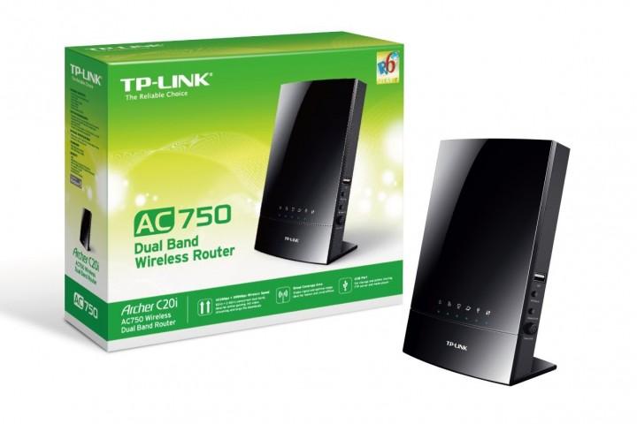 Router TP-Link Archer C20i — pásmo 2,4  GHz + 5 GHz!