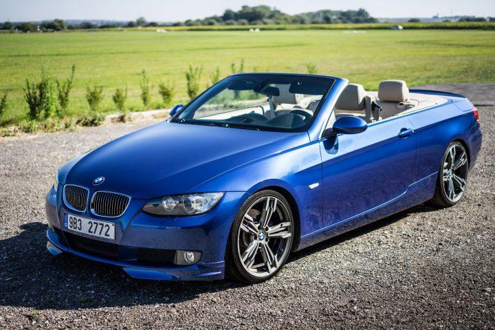 Prodám BMW e93 325i kabrio 218 HP