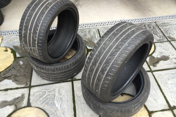 Prodám letní pneu Nexen N6000 225/40 ZR18 + 255/35 ZR18